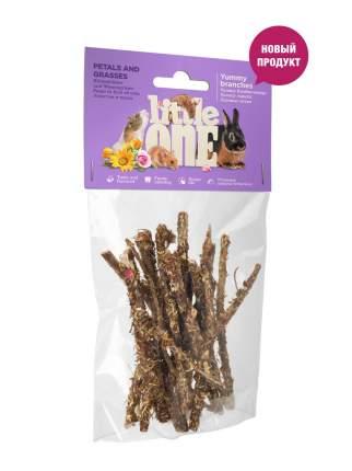 Лакомство для грызунов Little One, лакомые ветви с травами и лепестками