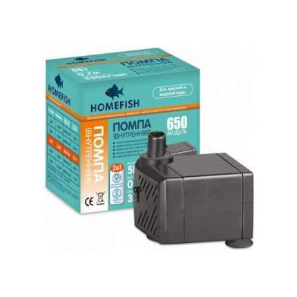 Помпа для аквариума подъемная Home-Fish 650, погружная, 650 л/ч, 5 Вт