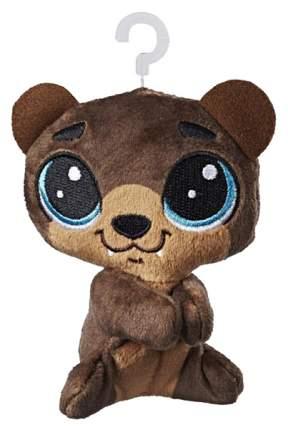 """Мягкая игрушка """"Литл Пет Шоп"""" на застежке - Медведь Хоффман, 10 см Hasbro"""