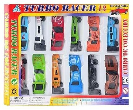 Набор из 12 машинок Turbo Racer Global Way Shares Ltd.