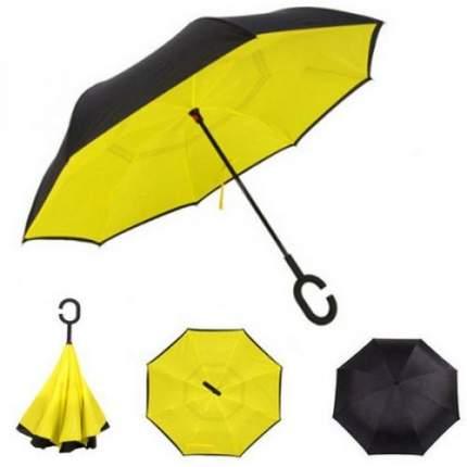 Зонт-трость UpBrella желтый