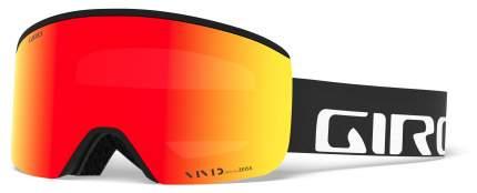 Горнолыжная маска Giro Axis 2020 Black Wordmark/Vivid Ember/Vivid Infrared