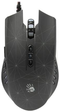 Проводная мышка A4Tech Bloody P81 Black USB Black
