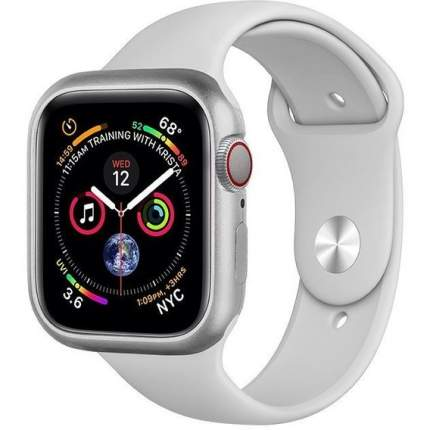 Чехол COTEetCI Aluminium Magnet Case для Apple Watch Series 4 44 mm Silver