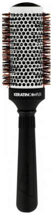 Брашинг для волос Keratin Complex Round Brush with Thermal Comb 76 мм