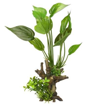 Искусственное растение для аквариума AQUA DELLA Florascape 7, 14х11х34,5 см