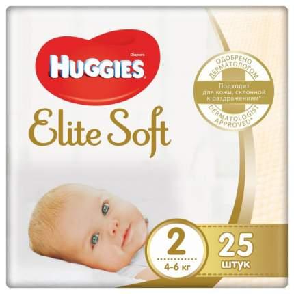 Подгузники для новорожденных Huggies Elite Soft 4-6 кг 25 шт
