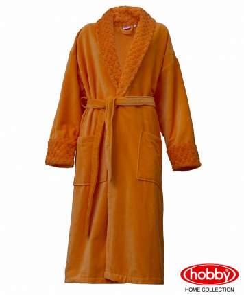 Банный халат HOBBY home collection Pollyanna оранжевый S