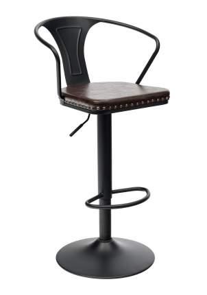 Барный стул с регулируемой высотой STOOL GROUP TOLIX ARMS SOFT F2535L Черный матовый
