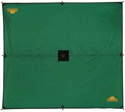 Тент Alexika Tarp зеленый 6 x 5 м