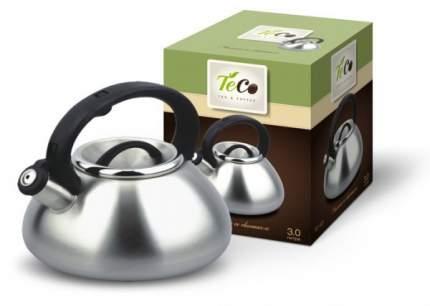 Чайник для плиты TECO TC-101 со свистком, нержавеющая сталь