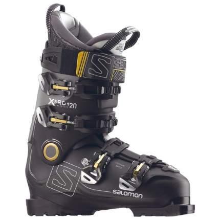 Горнолыжные ботинки Salomon X Pro 120 2018, black/metablack/gray, 29.5
