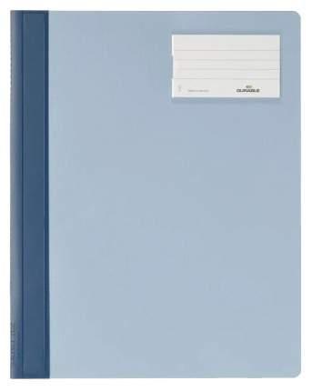 Папка-скоросшиватель Durable Management File c инфо-окном Синяя