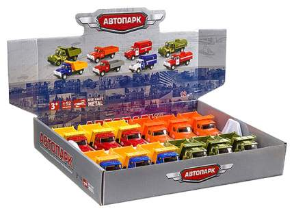 Набор металлических машин Play Smart автопарк А79189