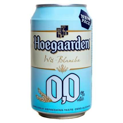 Пиво Hoegaarden безалкогольное 0.0% 0.33мл