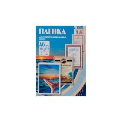 пленка для ламинирования Office Kit, 100шт, A6, 100 мкм