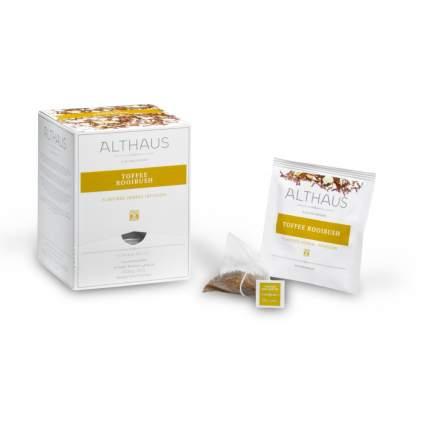 Чай травяной в пирамидках Althaus Toffee Rooibush Тоффи Ройбуш 15*2.75 г
