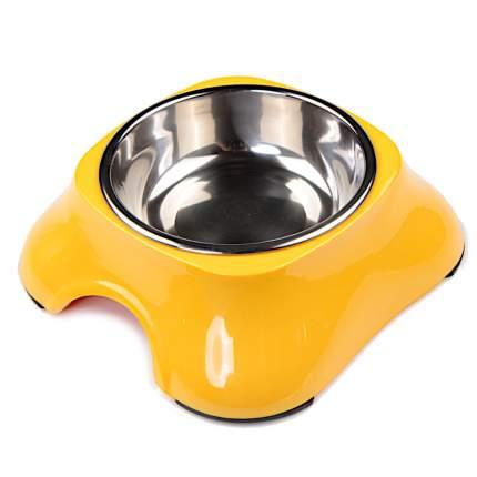 Миска для домашних животных Bobo, желтая, 150 мл