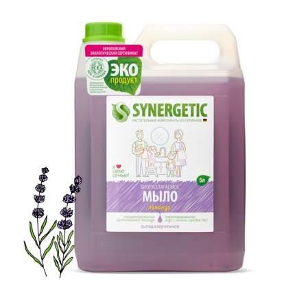 """Жидкое мыло SYNERGETIC """"Лаванда"""" с эффектом увлажнения, гипоаллергенное, 5л"""