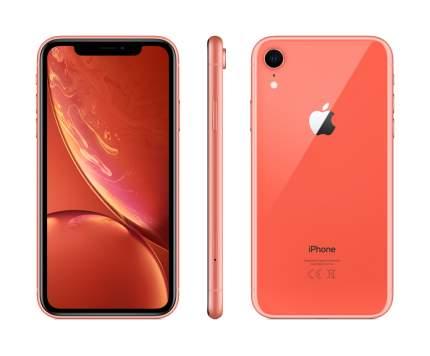 Смартфон Apple iPhone XR 256GB Coral (MRYP2RU/A)