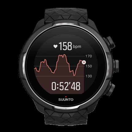 Смарт-часы Suunto 9 G1 Baro черные/серебристые
