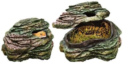 Укрытие для рептилий Penn-Plax Пещерка, полиэфирная смола, 12,7х12,7х7,6 см