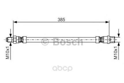 Шланг тормозной Bosch 1987476439