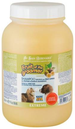 Шампунь для кошек и собак ISB Fruit Of The Grommer Maracuja для длинной шерсти, 3,25 л