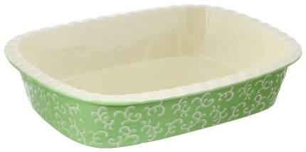 Форма керамическая ТМ Appetite прямоугольная 192051 35Х25Х7 см Зеленый