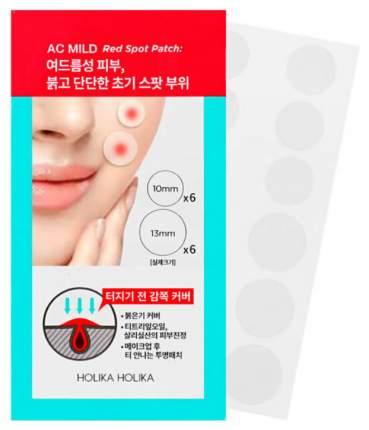 Патчи для очищения кожи Holika Holika AC Mild Red Spot Patch 1 г