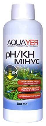Средство для ухода за водой Aquayer pH/KH минус 100мл