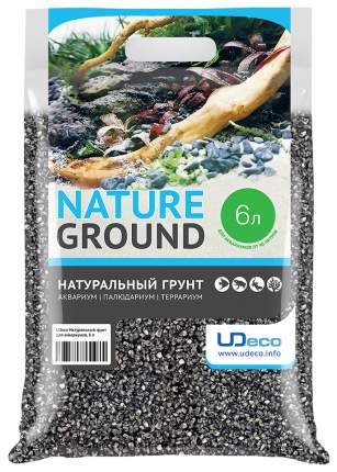 Грунт для аквариума UDeco Canyon Grey 4-6 мм 6 л