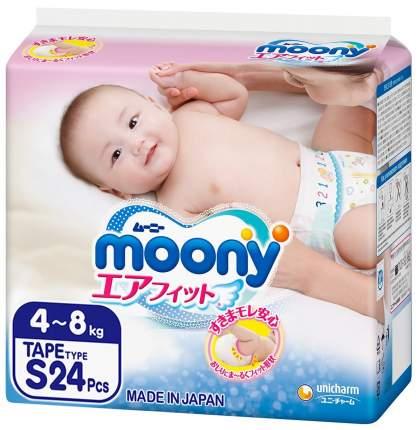 Подгузники moony S (4-8 кг), 24 шт