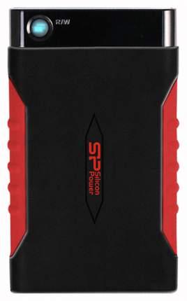 Внешний SSD накопитель Silicon Power Armor A15 1TB Black/Red (SP010TBPHDA15S3L)