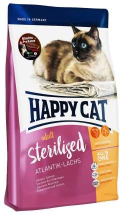 Сухой корм для кошек Happy Cat Sterilised, для стерилизованных, лосось, 4кг