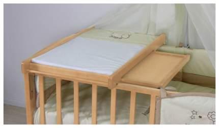 Пеленальная доска для детских кроватей Polini Kids 16 натуральный