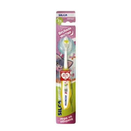 Зубная щетка SILCAMED  Веселая чистка 3+ мягкая