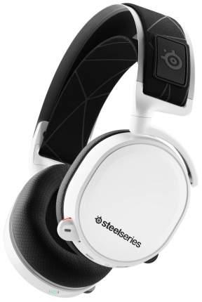 Игровые наушники SteelSeries Arctis 7 White/Black