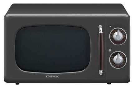 Микроволновая печь соло Daewoo KOR-6697S black