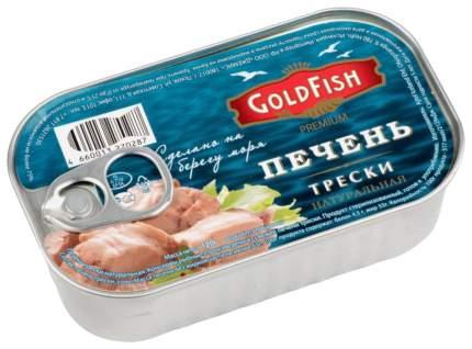 Печень трески GoldFish premium натуральная 120 г