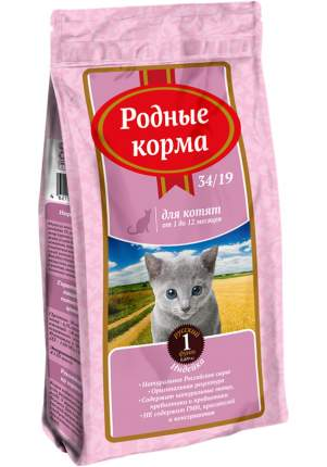 Сухой корм для котят Родные корма, индейка, 0,409кг