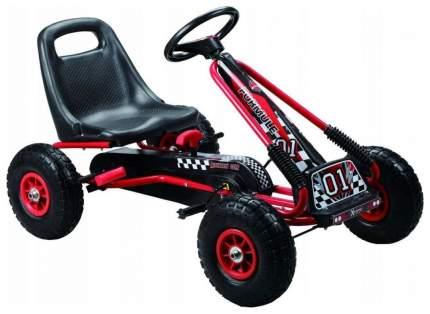 Каталка детская Bondibon Карт с педалями красный X67248