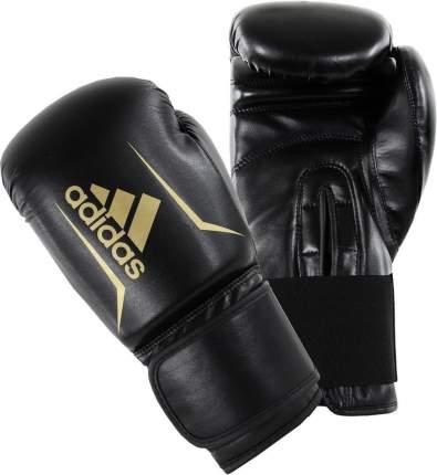 Боксерские перчатки Adidas Speed 50 золотистые/черные 12 унций