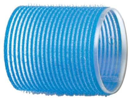 Аксессуар для волос Dewal Бигуди-липучки d=55 мм Голубой 6 шт