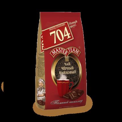 Чай Master Team стандарт темный шоколад черный крупнолистовой 250 г