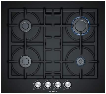 Встраиваемая варочная панель газовая Bosch PNP6B6O90R Black
