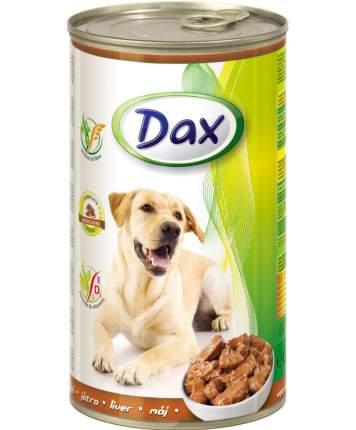 Консервы для собак Dax, печень, 1240г