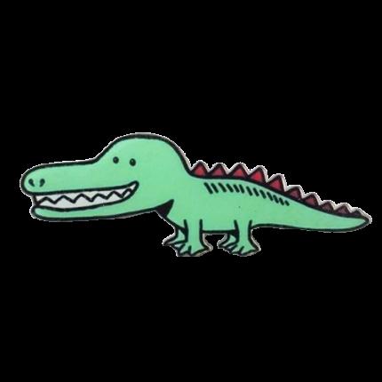Значок Крокодил, акрил