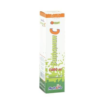 Витамин C таблетки шипучие 1 г 20 шт.