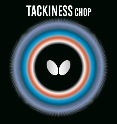 Накладка для ракетки Butterfly Tackiness Chop черная 1.9